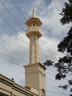 kultur  Beispielhafte Zusammenarbeit von Konfessionen auf den Philippinen Masjid SalahuddinSta. Barbara Mosque restauriert