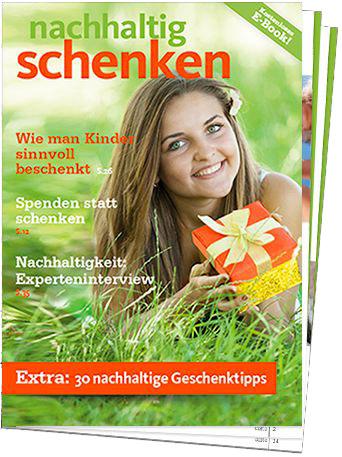 Deckblatt_nachhaltig_schenken, ratgeber, positive nachrichten
