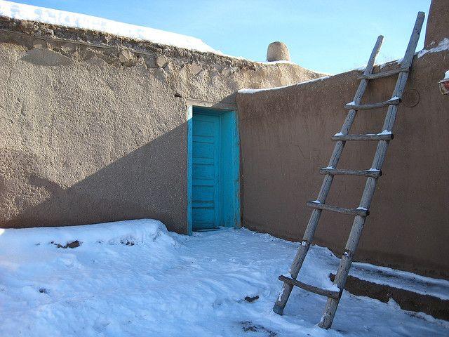 Taos Pueblo, lehmbauten, positive nachrichten