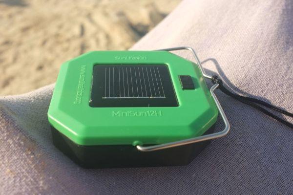 MiniSun12H, solarlampe, positive nachrichten