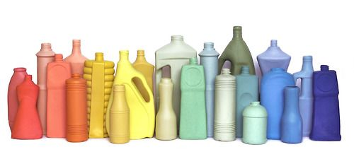 Trash Bottle Vases, Foekje Fleur