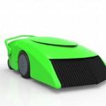 Automatischer Rasenmäher produziert seinen eigenen Treibstoff