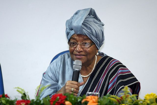 Ellen Johnson-Sirleaf, liberia, positive nachrichten