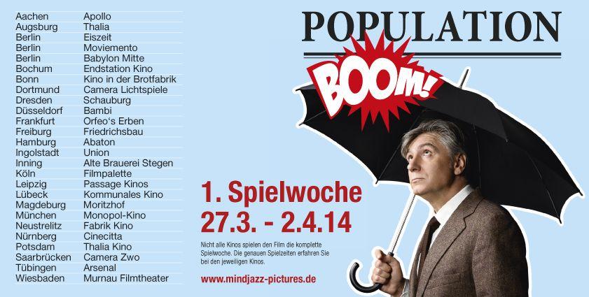 POPULATION BOOM im Kino, positive nachrichten