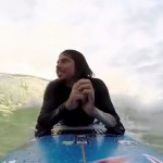 Querschnittsgelähmter Surfer reitet Wellen und überwindet Grenzen