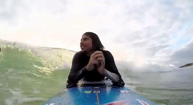 Querschnittsgelaehmter Surfer, positive nachrichten