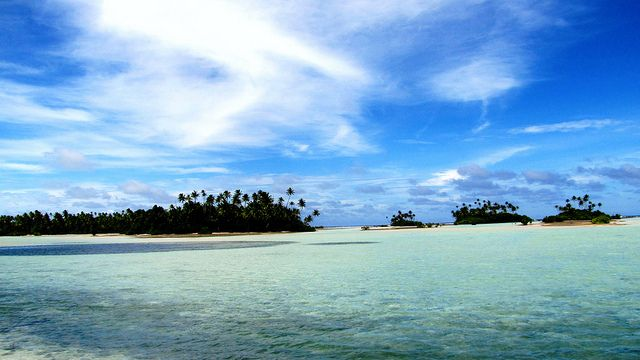 Butaritari, Kiribati, positive nachrichten, Riffe, Meeresschutzgebiet