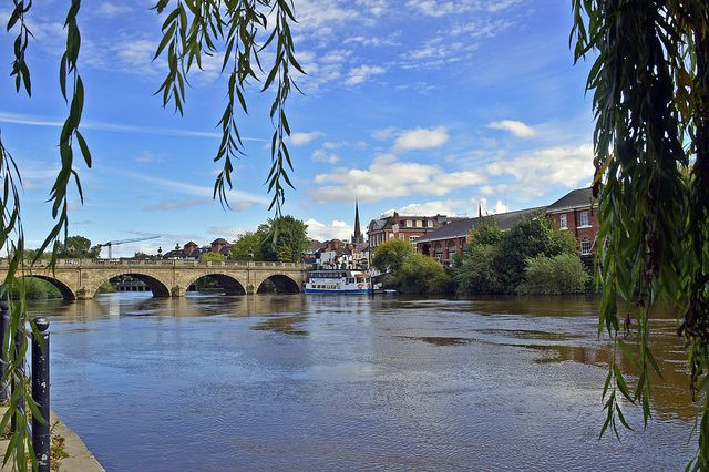 River Severn, Shrewsbury, England
