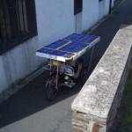 Schüler erfinden Solarkraft-Fahrrad