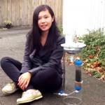 Teenagerin erfindet Gerät zur Erzeugung von sauberer Energie und frischem  Wasser
