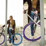 Das ″unstehlbare″ Yerka-Fahrrad