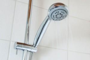 bad, dusche, duschhahn