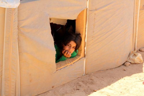 syrisches Flüchtlingskind