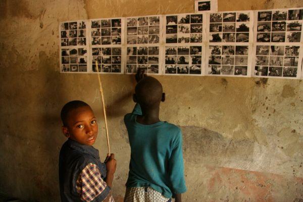 Schulkinder in Guinea-Bissau