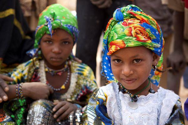 Malische Fluechtlinge