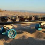 Die ersten Sonnenbrillen aus alten Fischernetzen