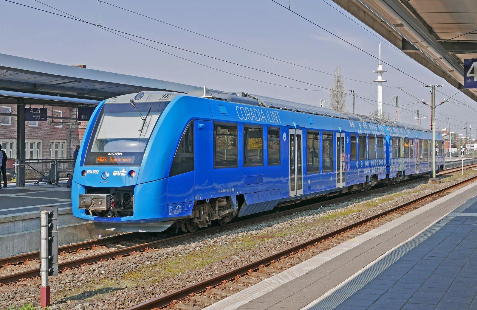 Wasserstoffbetriebene Regionalbahn